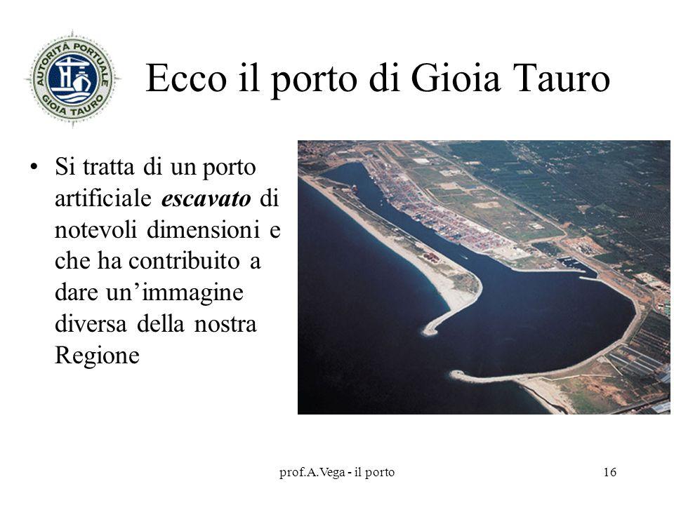 Ecco il porto di Gioia Tauro