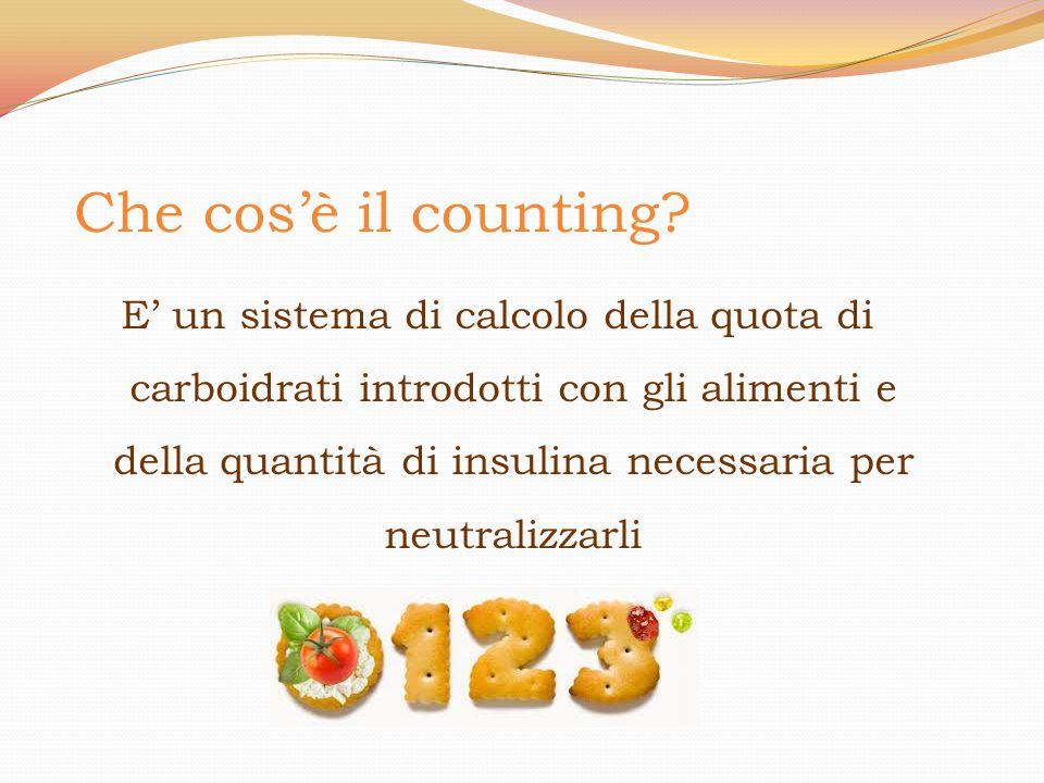 Che cos'è il counting