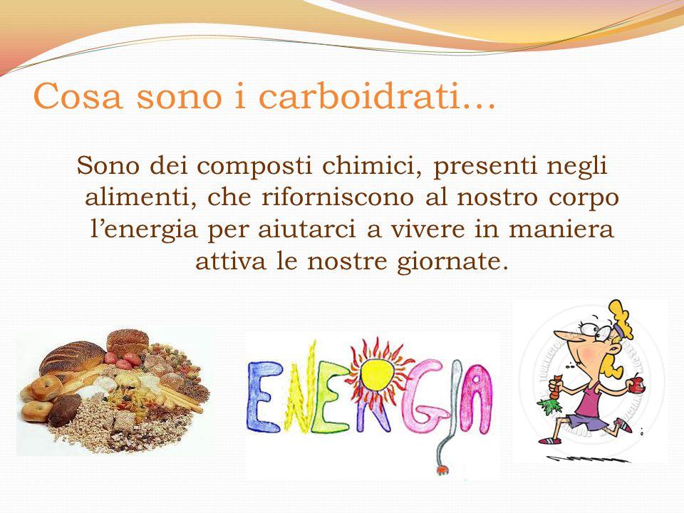 Cosa sono i carboidrati…