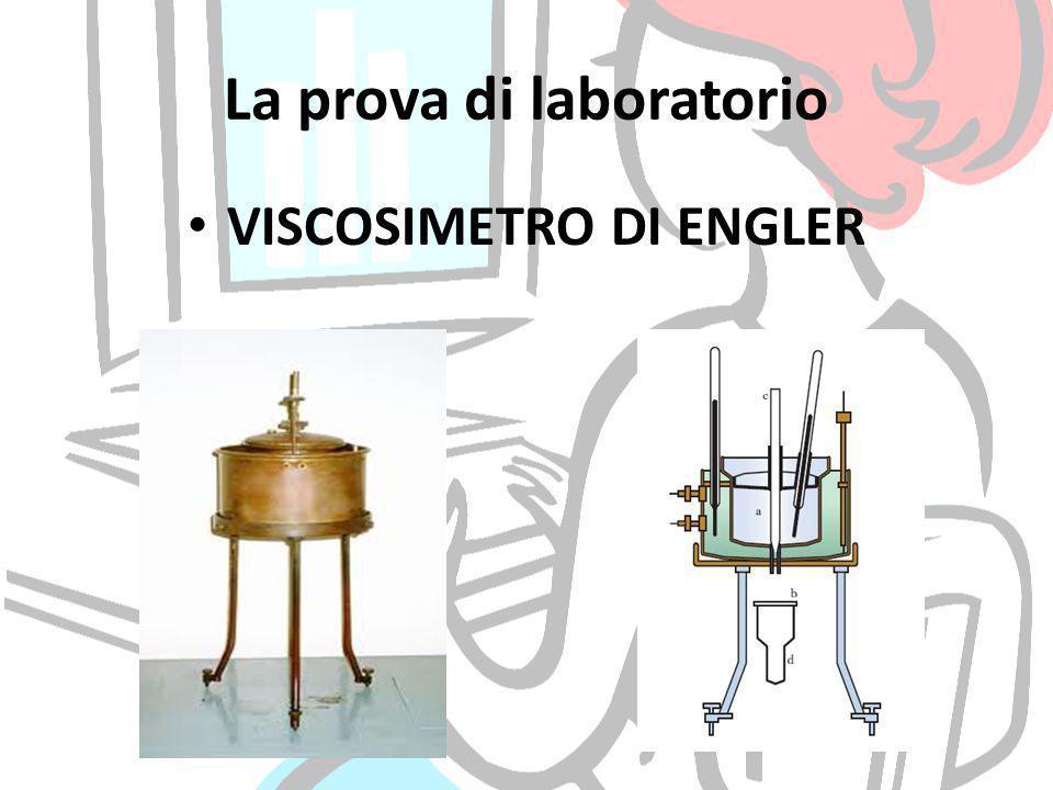 La prova di laboratorio