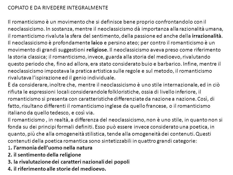 COPIATO E DA RIVEDERE INTEGRALMENTE