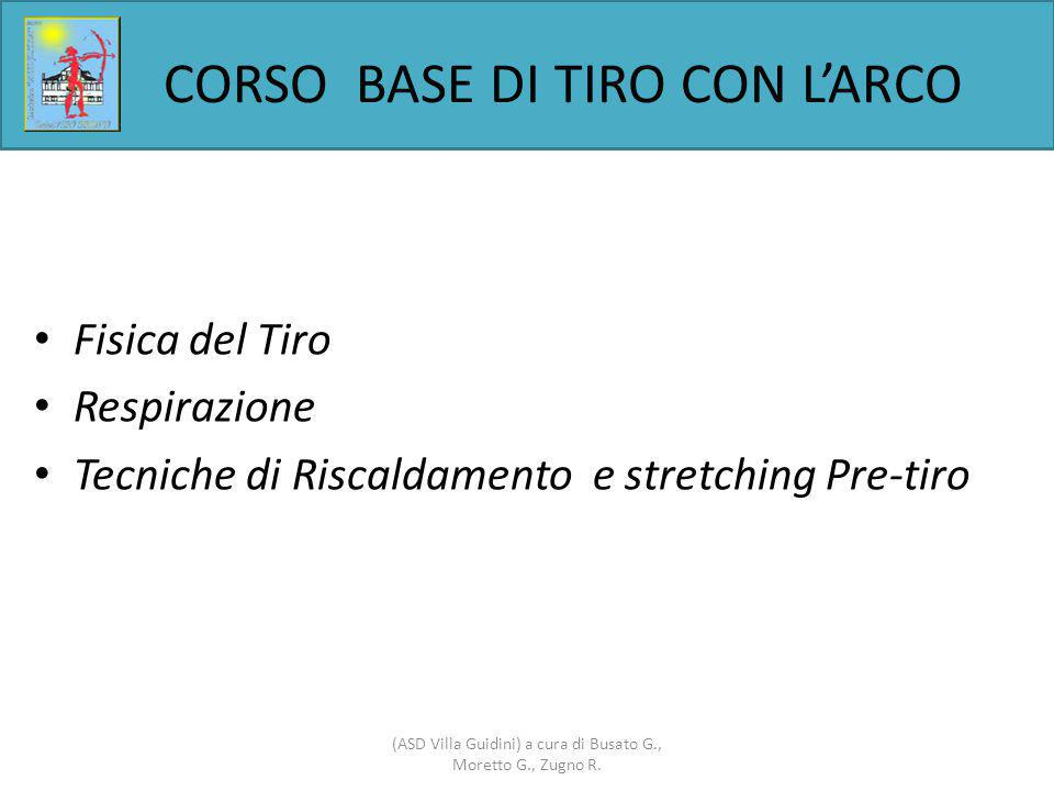 CORSO BASE DI TIRO CON L'ARCO