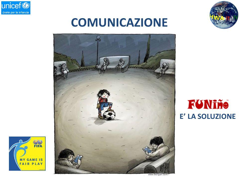 COMUNICAZIONE E' LA SOLUZIONE