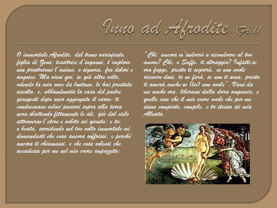 Inno ad Afrodite (Fr.1)