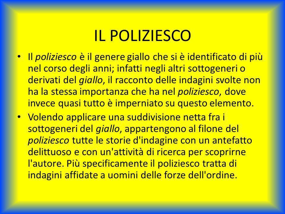 IL POLIZIESCO