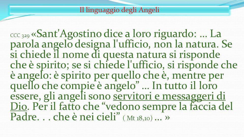 Il linguaggio degli Angeli
