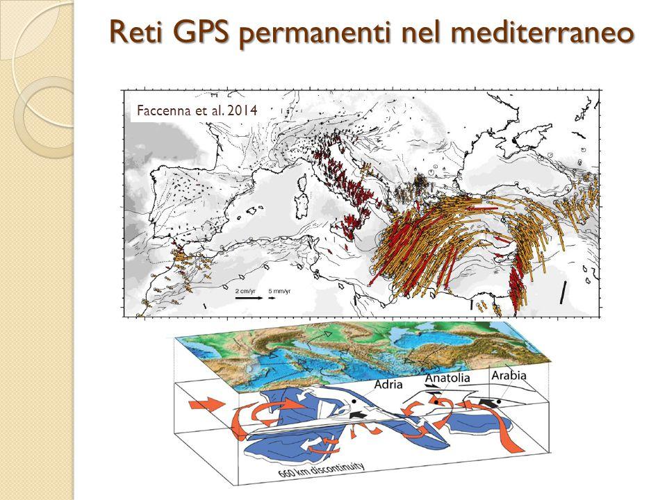 Reti GPS permanenti nel mediterraneo
