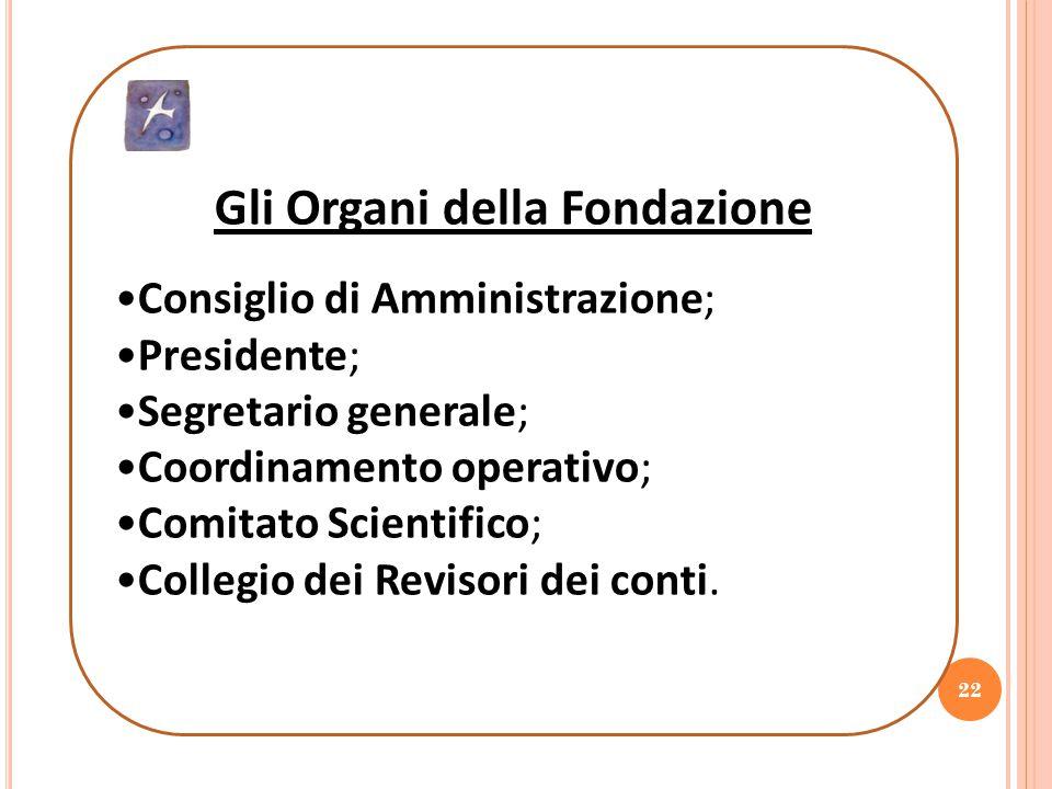Gli Organi della Fondazione