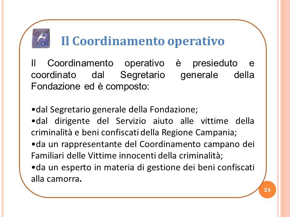 Il Coordinamento operativo