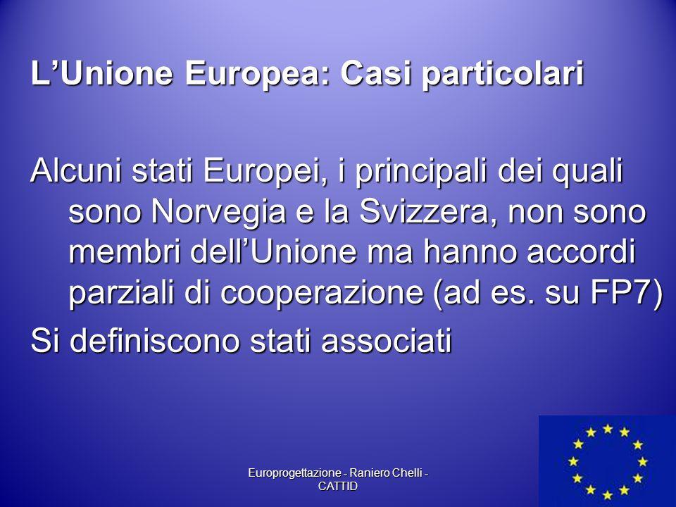 Europrogettazione - Raniero Chelli - CATTID