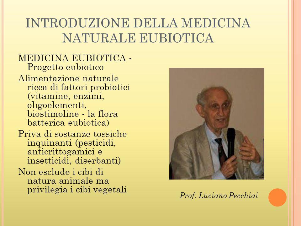 INTRODUZIONE DELLA MEDICINA NATURALE EUBIOTICA