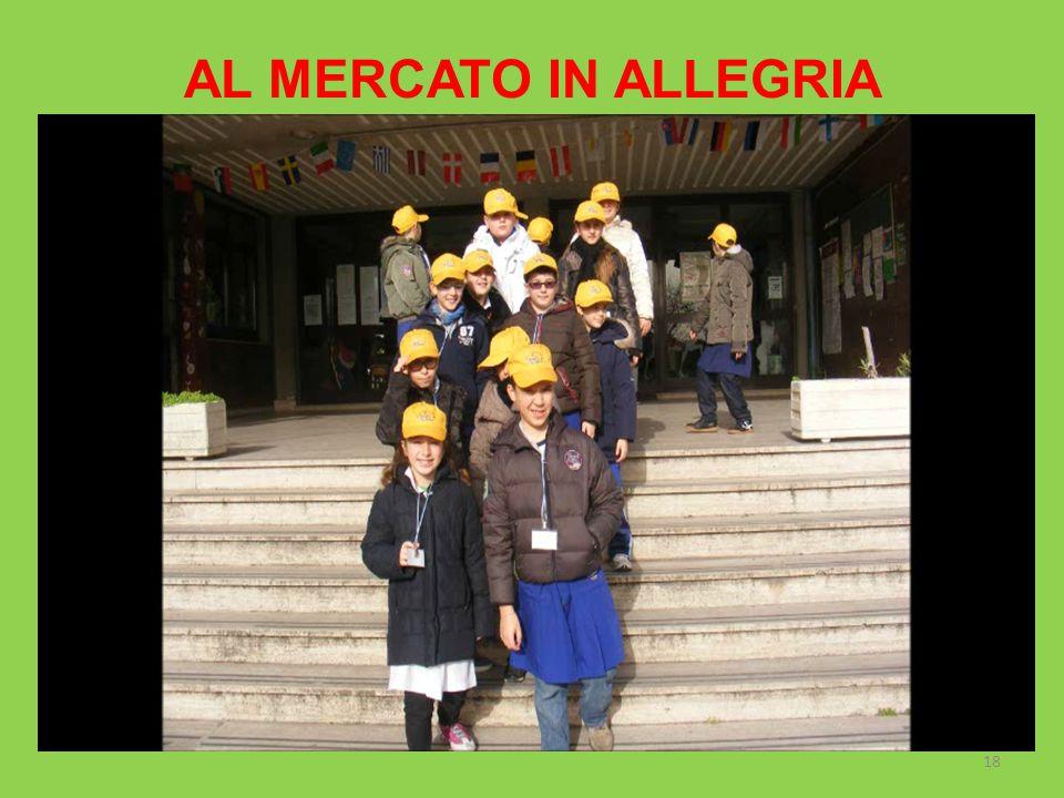 AL MERCATO IN ALLEGRIA