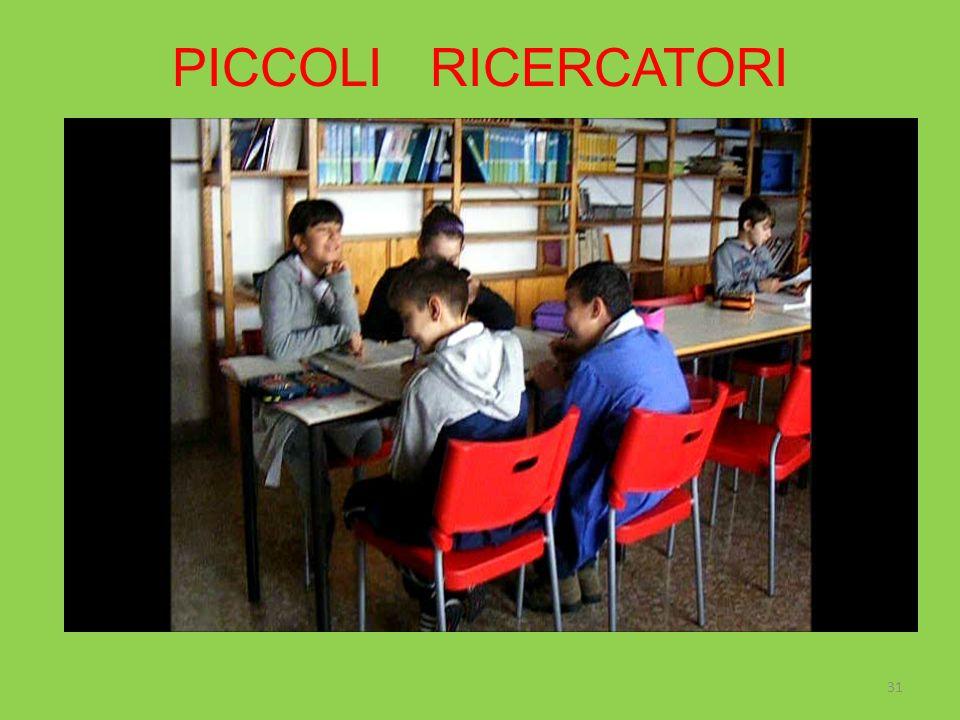 PICCOLI RICERCATORI