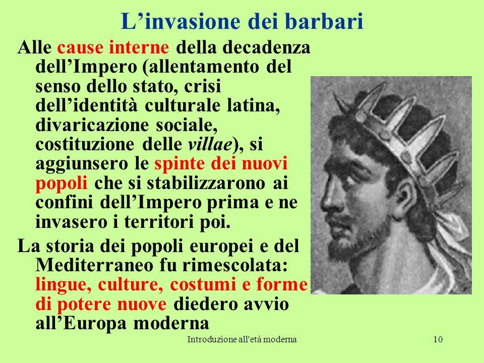L'invasione dei barbari