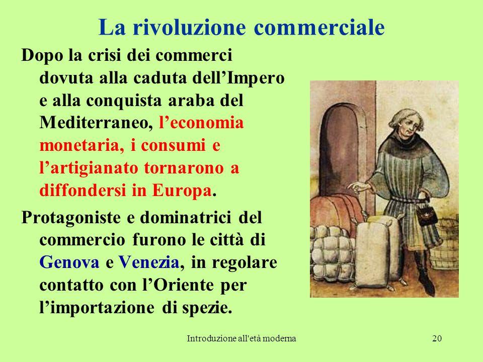 La rivoluzione commerciale