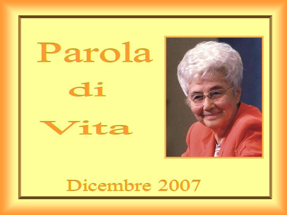 Parola di Vita Dicembre 2007