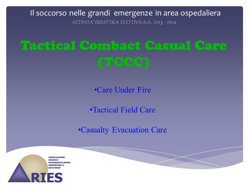 Il soccorso nelle grandi emergenze in area ospedaliera
