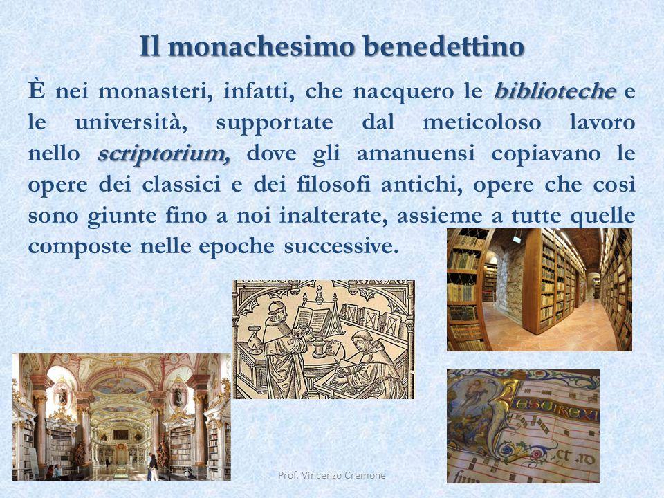 Il monachesimo benedettino