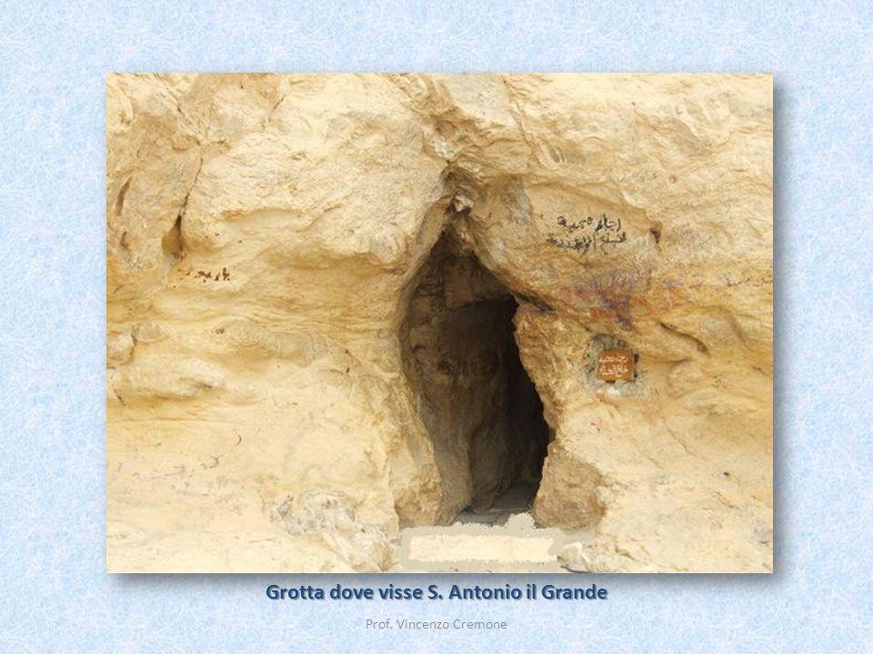 Grotta dove visse S. Antonio il Grande