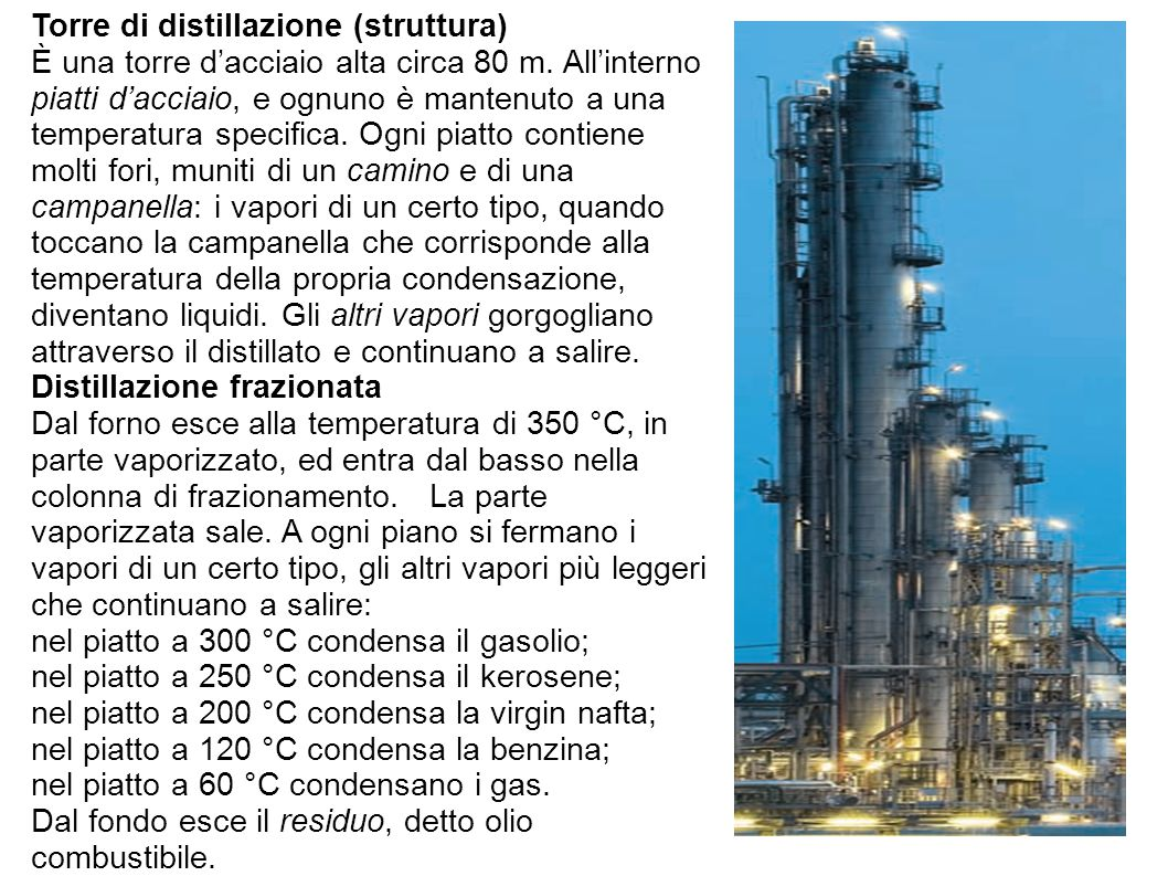 Torre di distillazione (struttura)