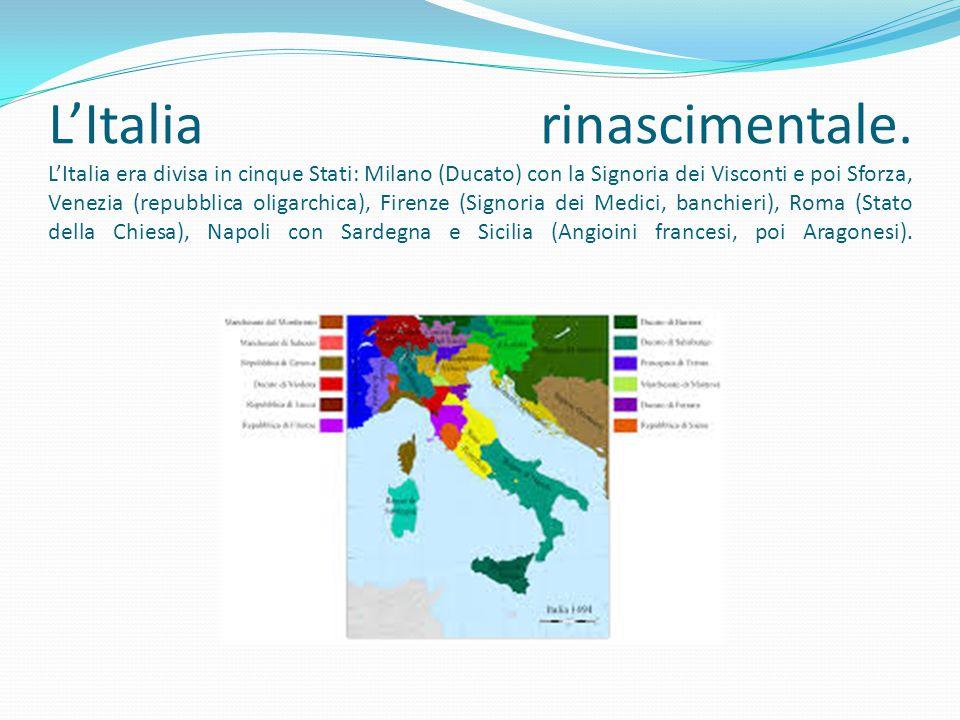 L'Italia rinascimentale