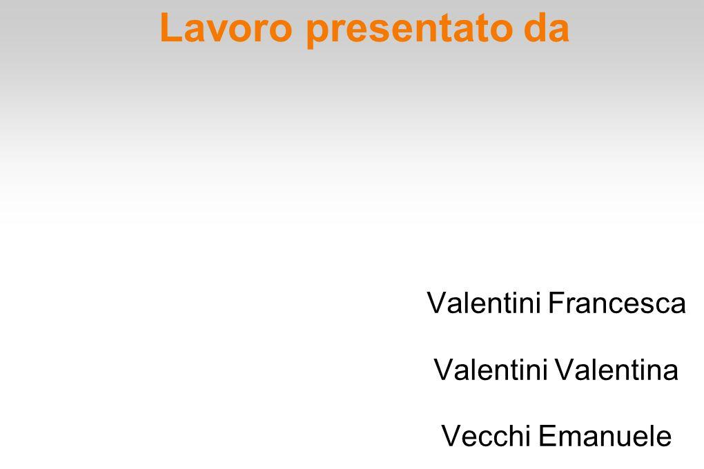 Valentini Francesca Valentini Valentina Vecchi Emanuele