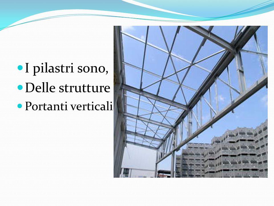 I pilastri sono, Delle strutture Portanti verticali