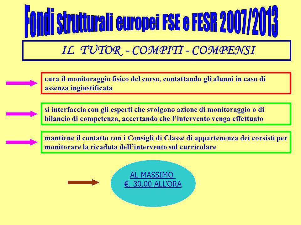 IL TUTOR - COMPITI - COMPENSI