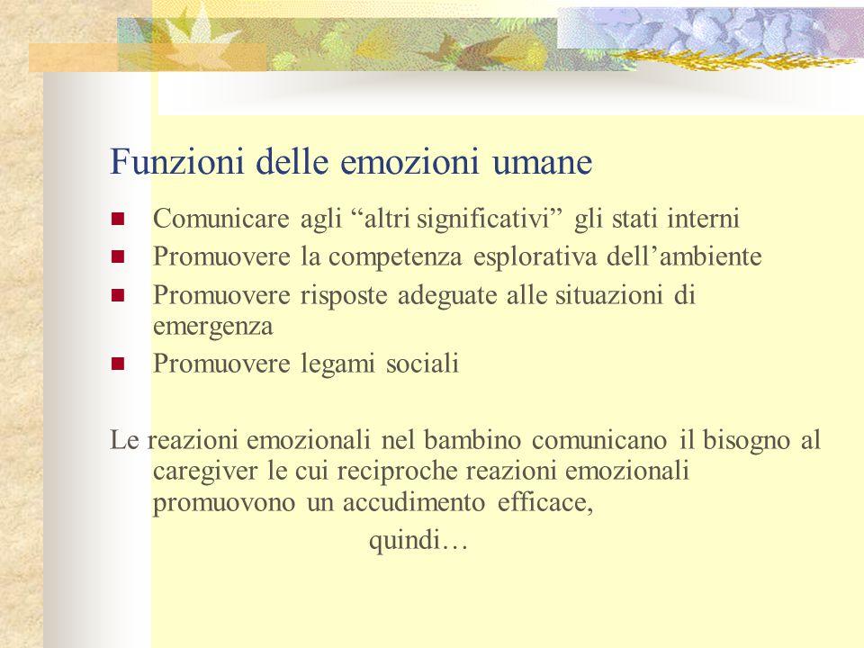 Funzioni delle emozioni umane
