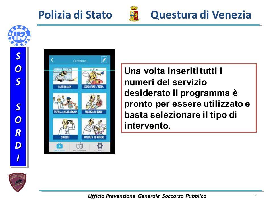 Ufficio Prevenzione Generale Soccorso Pubblico