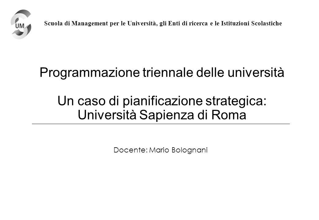 Docente: Mario Bolognani