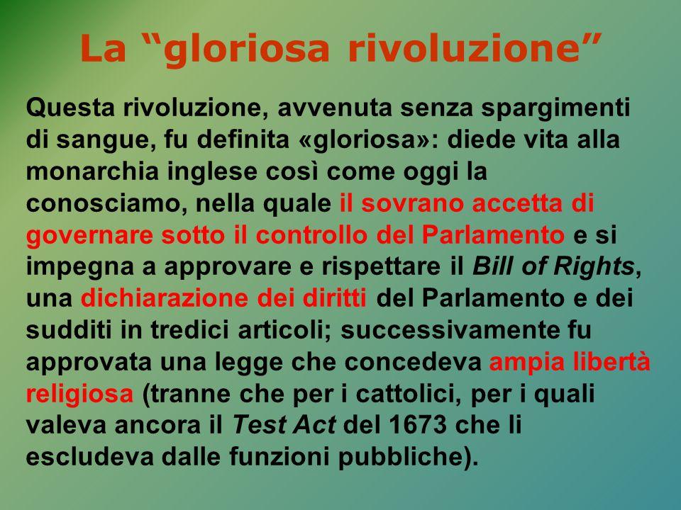 La gloriosa rivoluzione