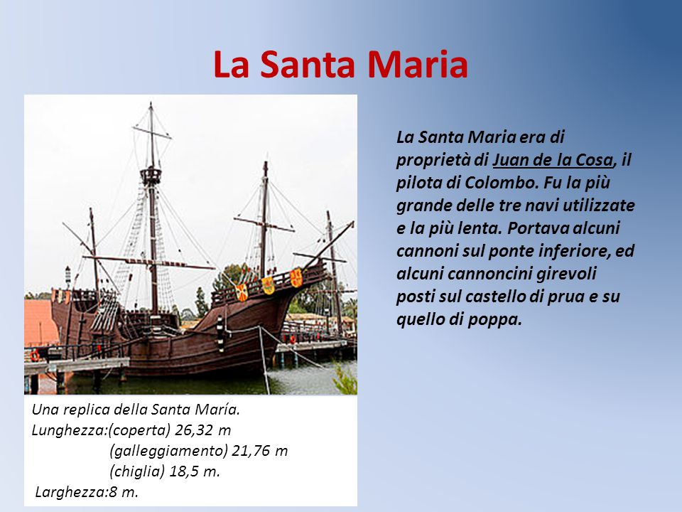 La Santa Maria