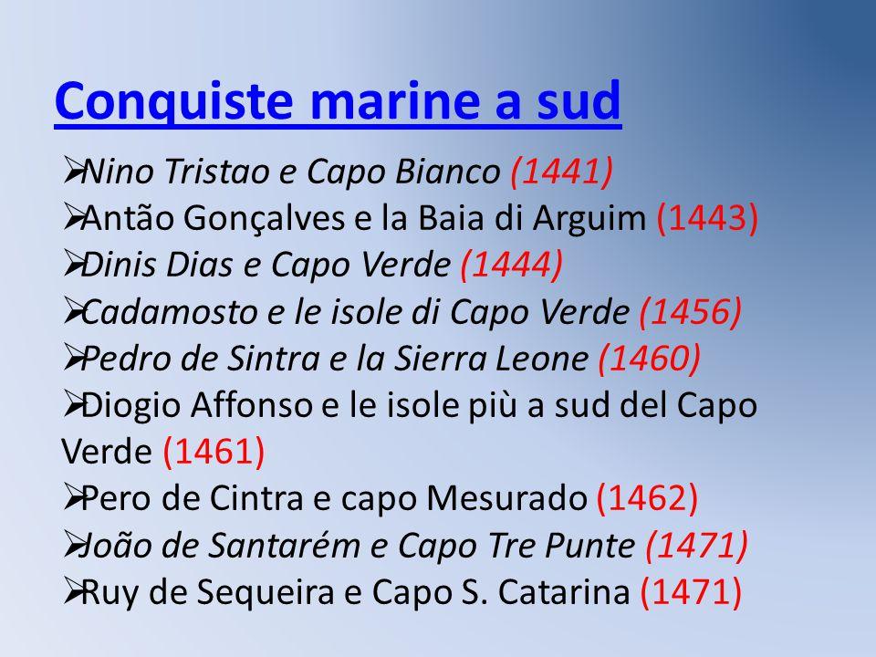 Conquiste marine a sud Nino Tristao e Capo Bianco (1441)