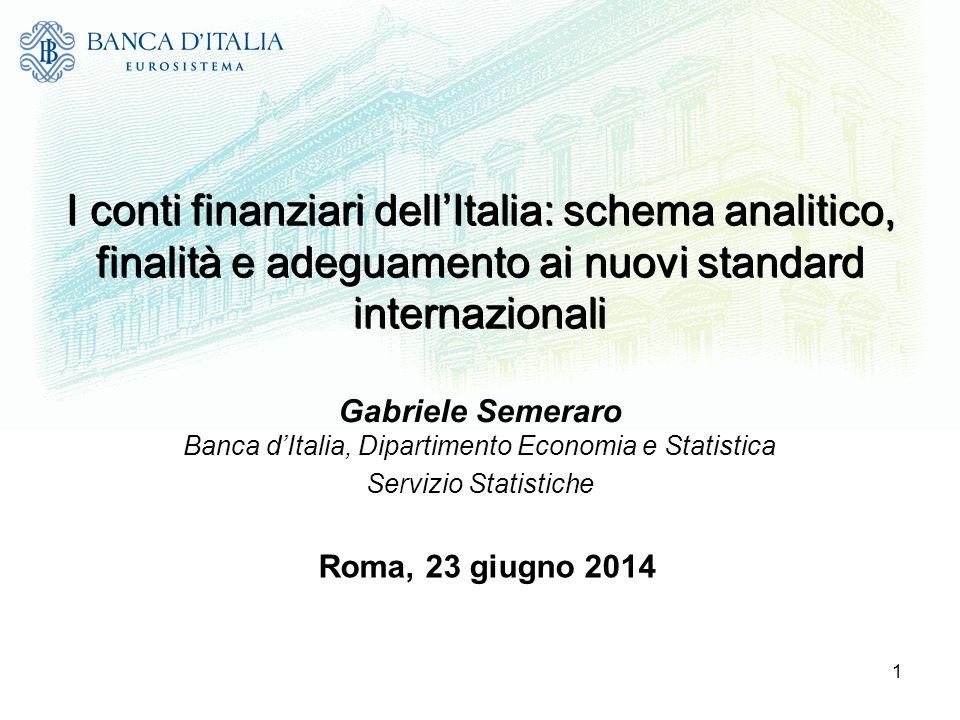 Banca d'Italia, Dipartimento Economia e Statistica