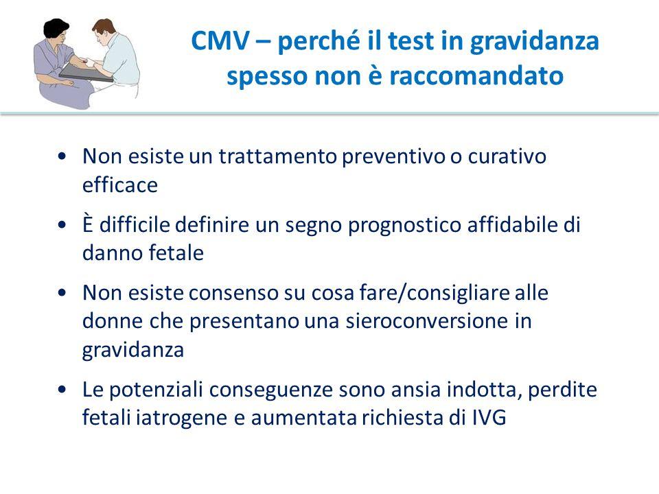 CMV – perché il test in gravidanza spesso non è raccomandato