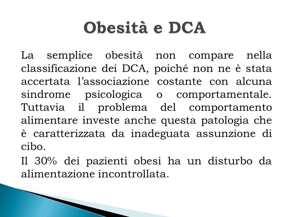 Obesità e DCA