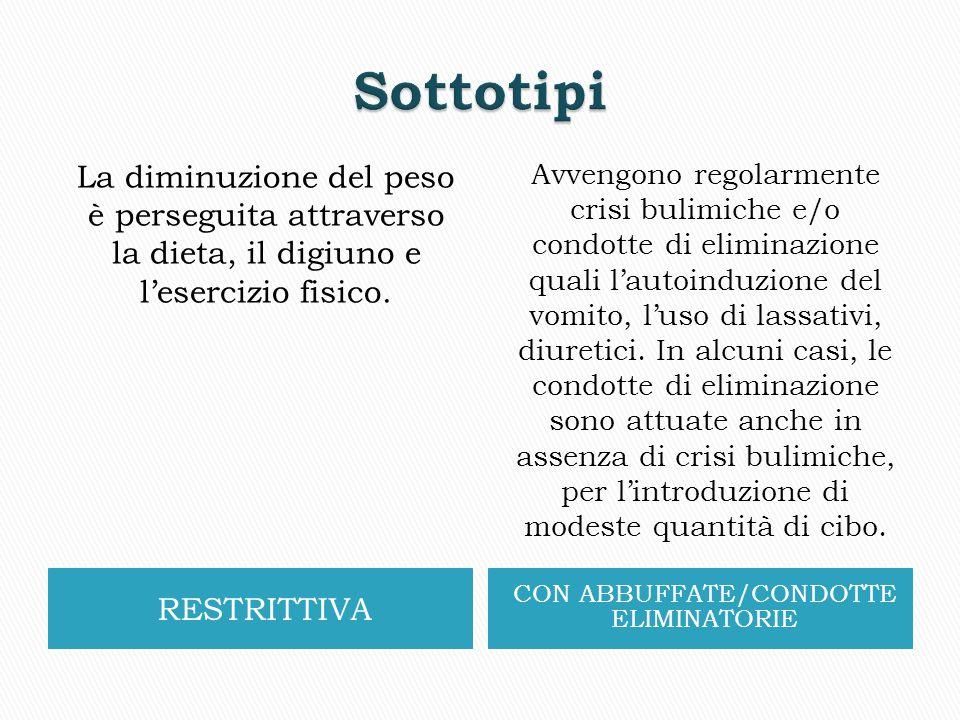 CON ABBUFFATE/CONDOTTE ELIMINATORIE