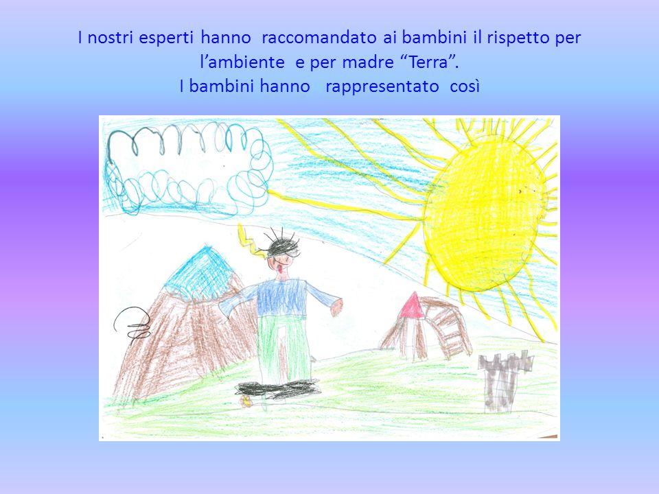 I nostri esperti hanno raccomandato ai bambini il rispetto per l'ambiente e per madre Terra .
