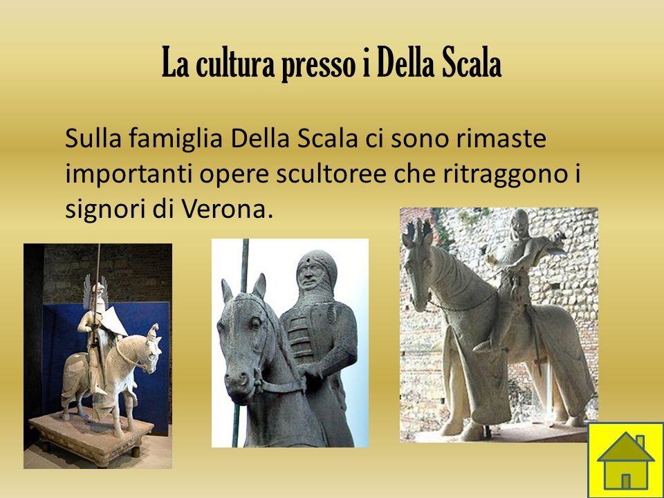 La cultura presso i Della Scala