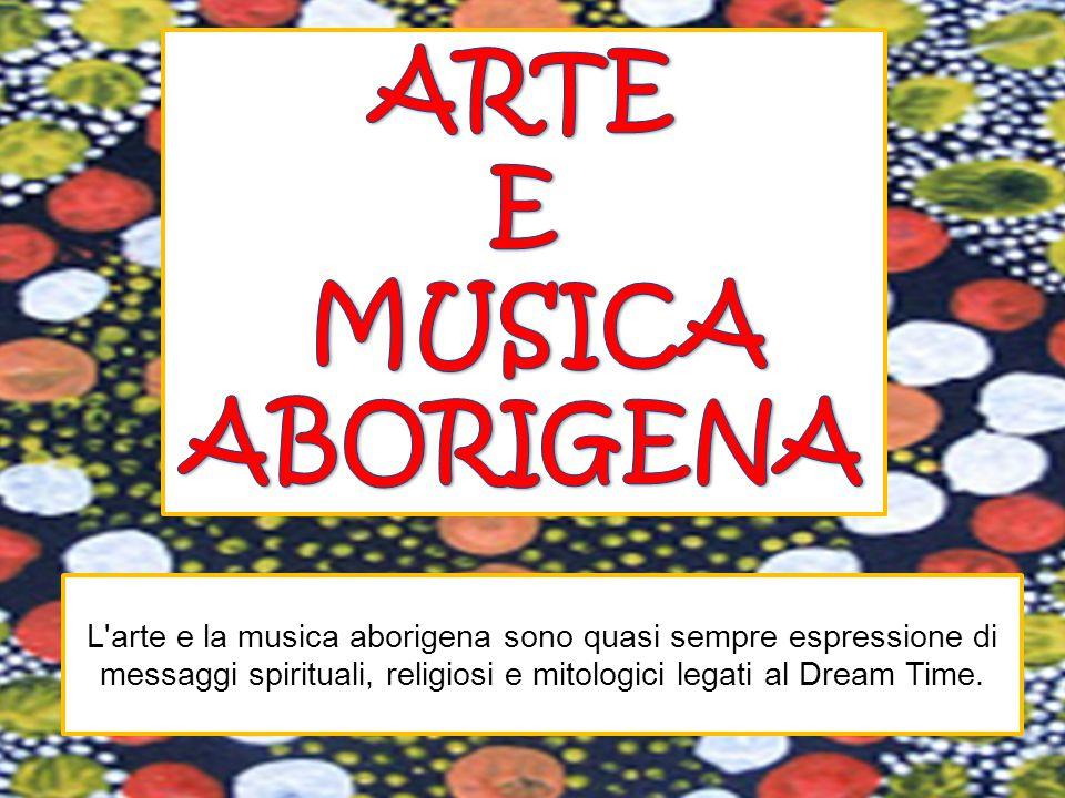 ARTE E MUSICA ABORIGENA
