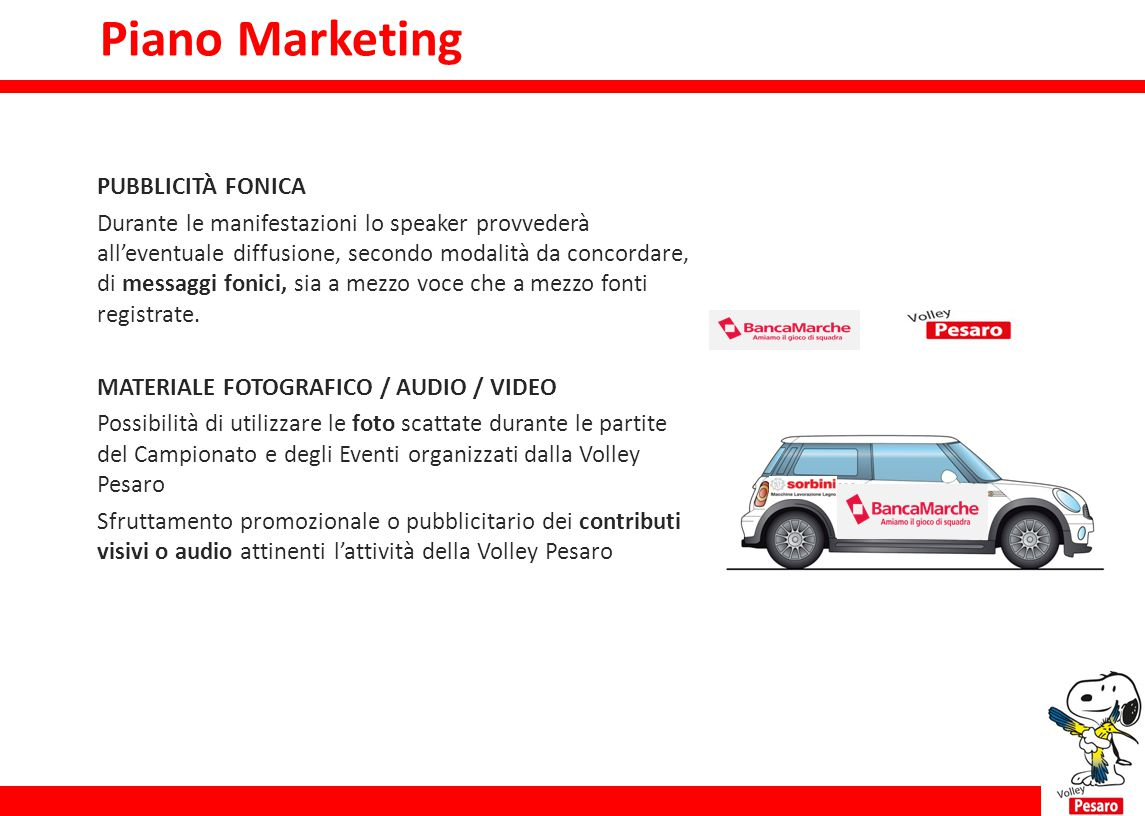 Piano Marketing Piano marketing PUBBLICITÀ FONICA