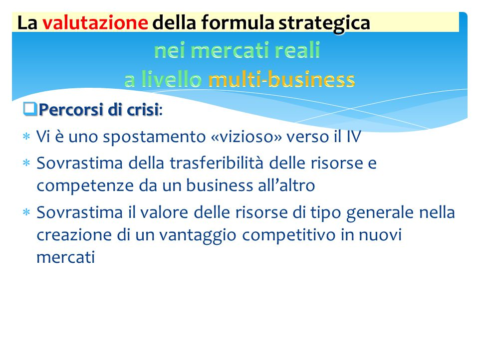 a livello multi-business
