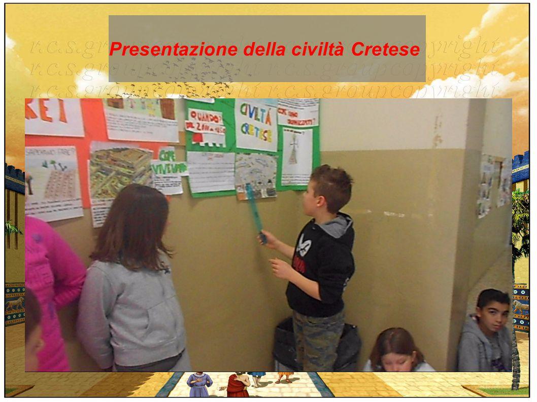 Presentazione della civiltà Cretese
