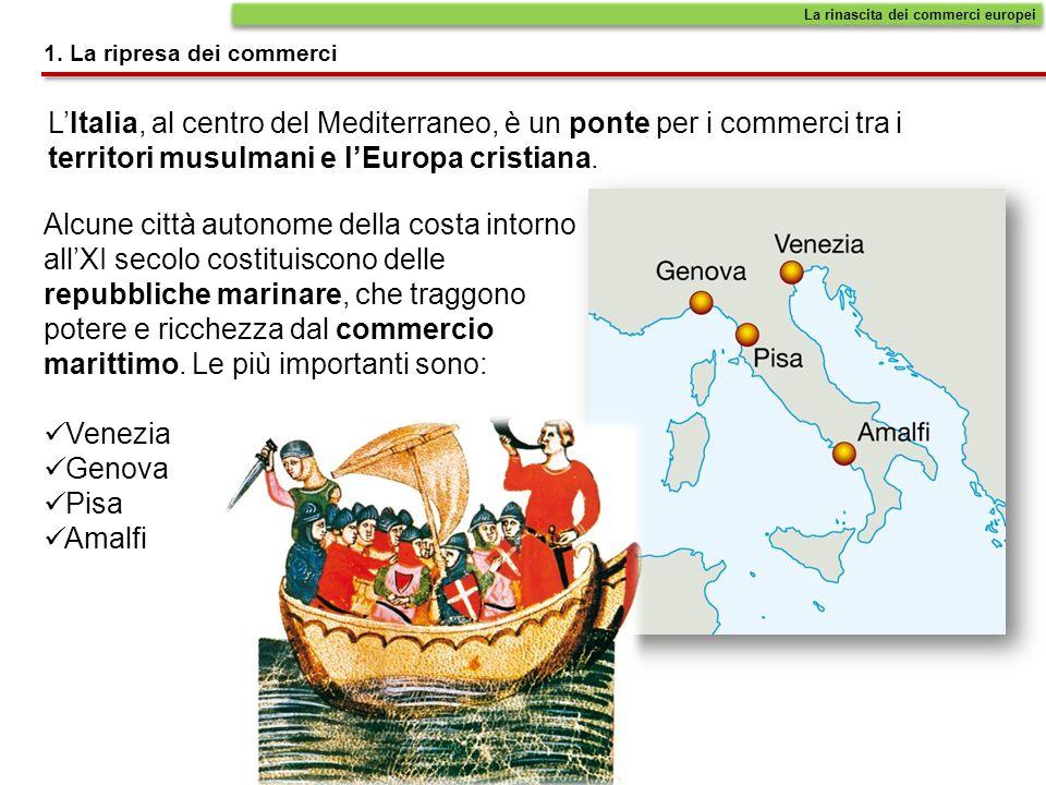 La rinascita dei commerci europei