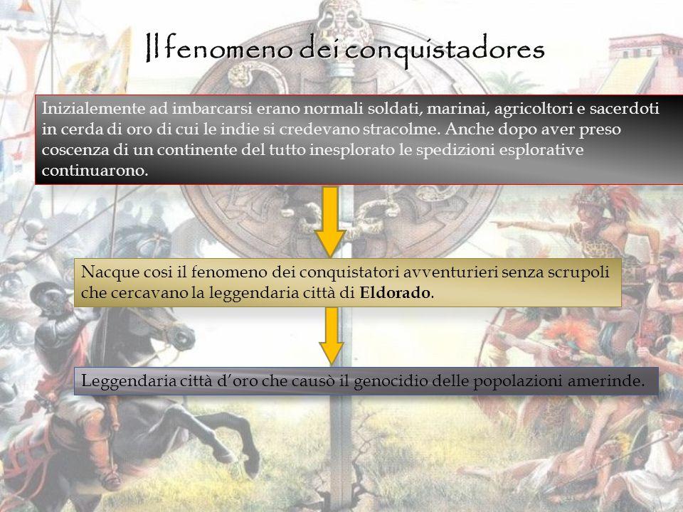 Il fenomeno dei conquistadores