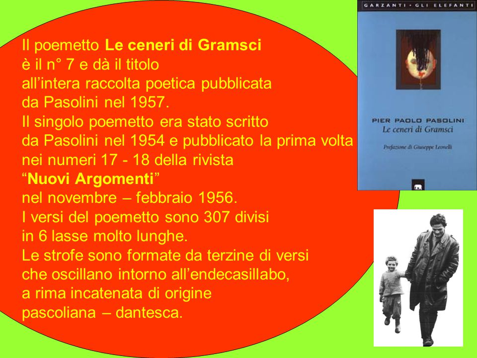 Il poemetto Le ceneri di Gramsci