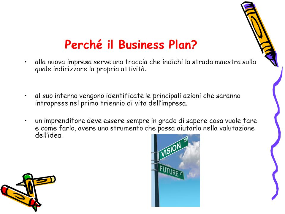 Perché il Business Plan