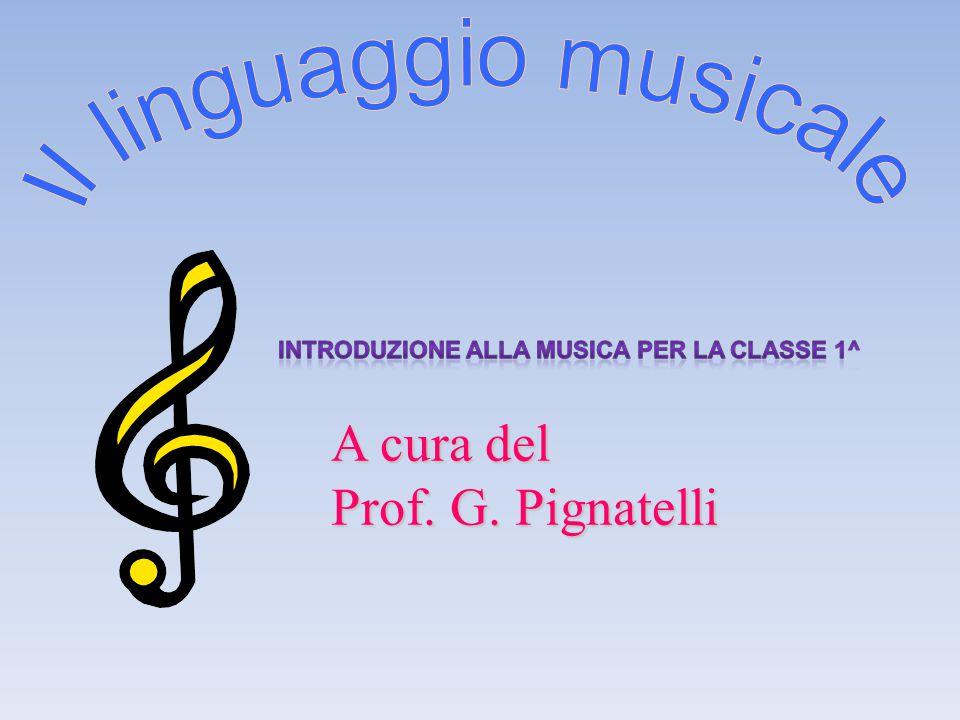 Il linguaggio musicale