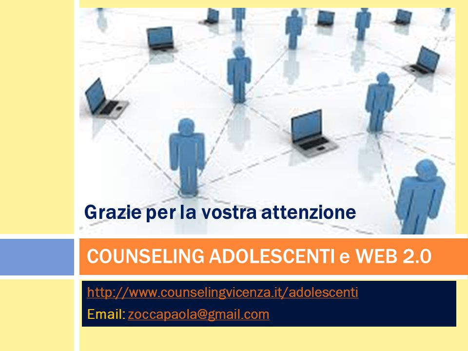 COUNSELING ADOLESCENTI e WEB 2.0